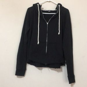 Victoria's Secret hooded distressed sweatshirt